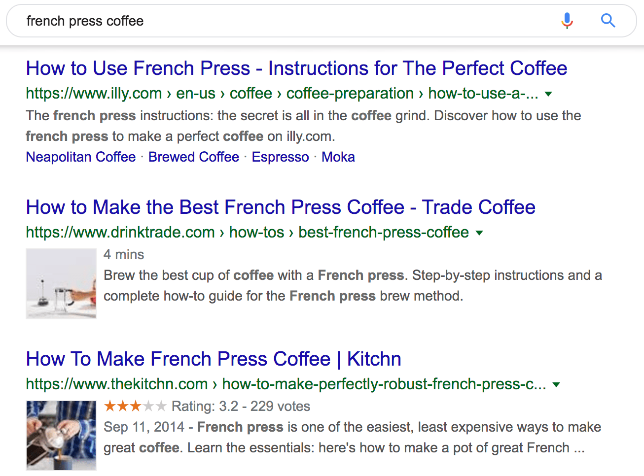 french press coffee Google Search