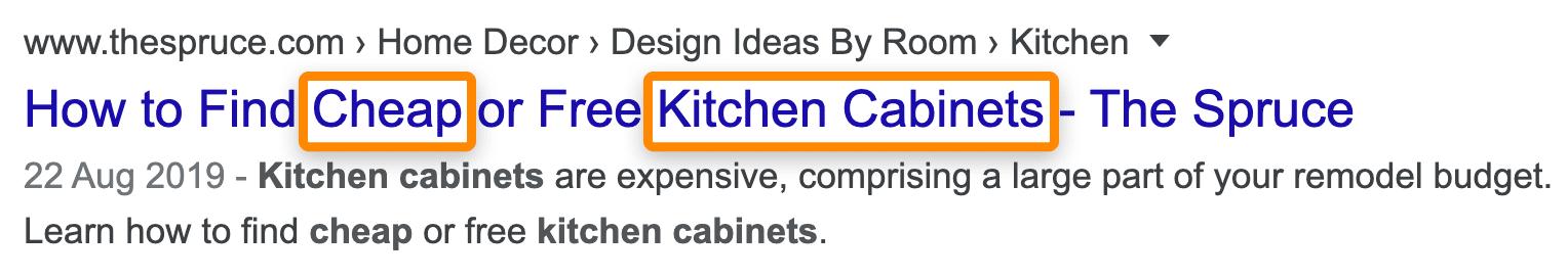 16 kitchen cabinets