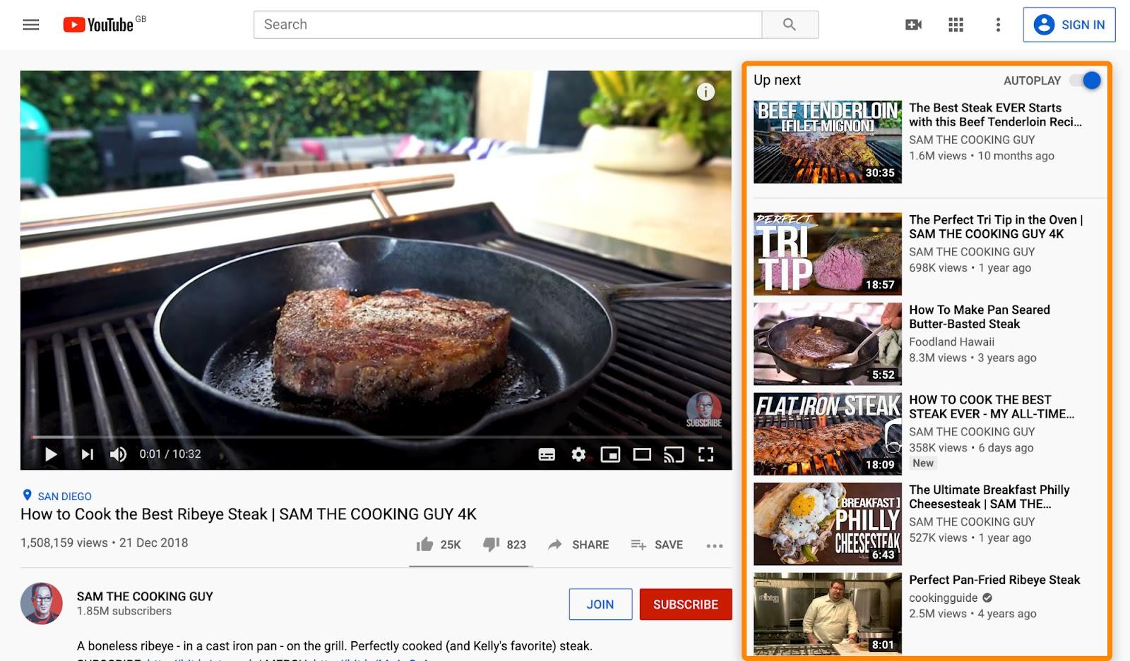 2 youtube steak recipes