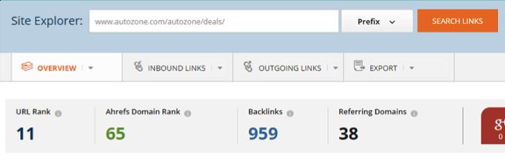 link results- deals
