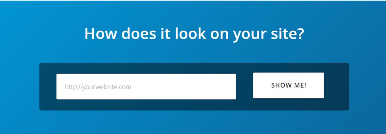UserLike nhận thấy rằng những khách truy cập đã sử dụng thanh Try It Yourself ở lại trang web lâu hơn 40% và có nhiều khả năng đăng ký hơn 24%.
