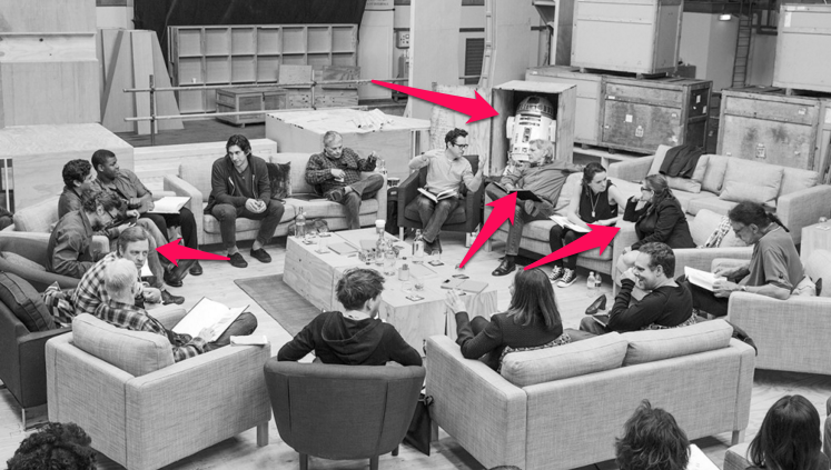 The Force Awakens cast reveal