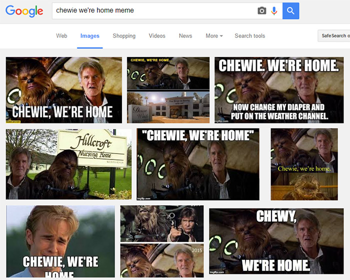 content marketing examples: meme