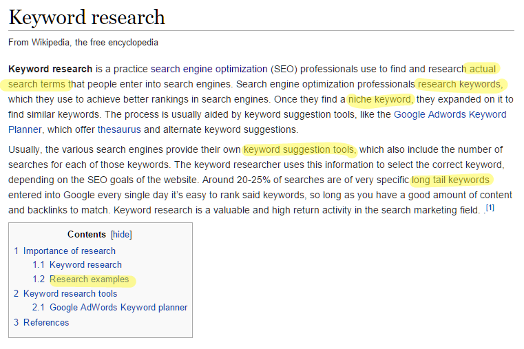 SEO: How Do You Write A Keyword Research Report?