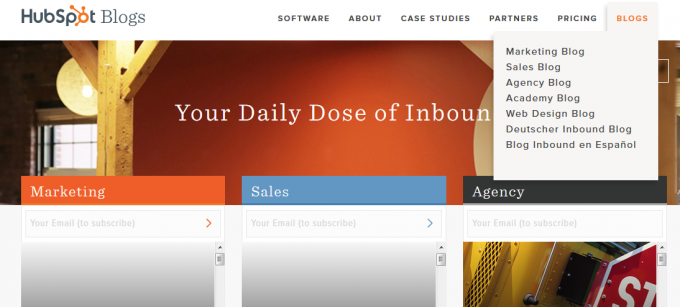 hubspot blogs