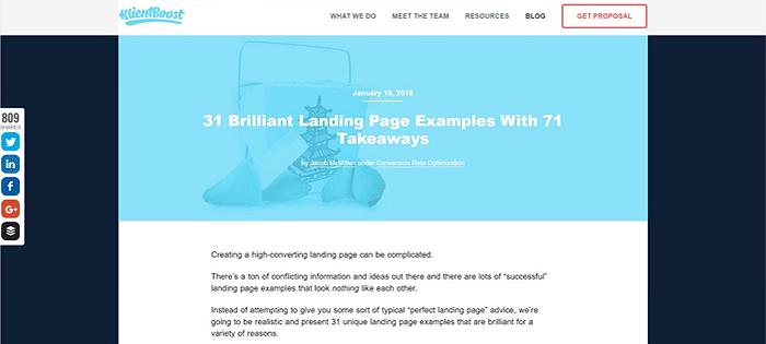 landing-page-exampes