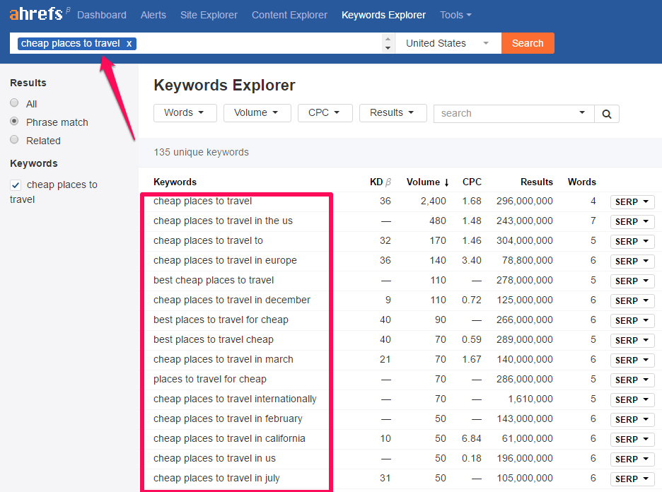 keywords-explorer6