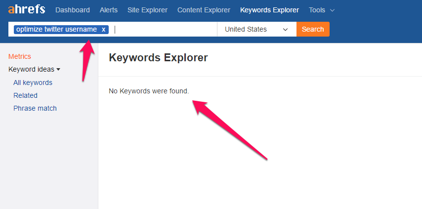 keywords-explorer