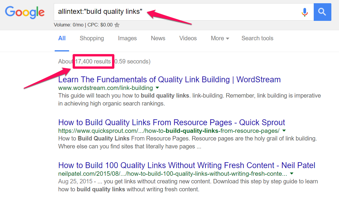 build-quality-links