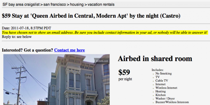 Craigslist listings never looked so good.