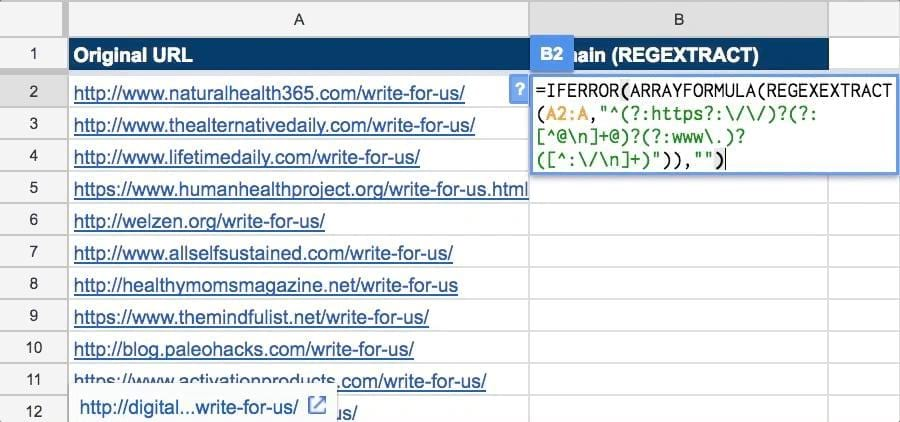 10 Google Sheets Formulas Every SEO Should Know