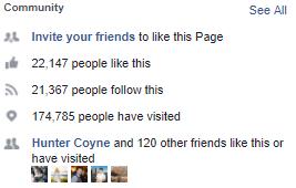 El Hefe Facebook Likes