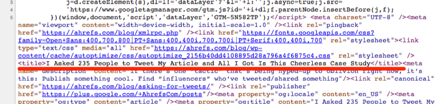 view source https ahrefs com blog asking for tweets
