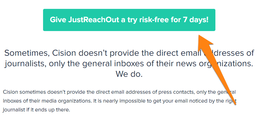 Risk-free CTA