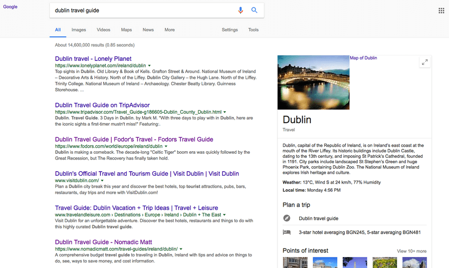 Travel Guide linkbuilding