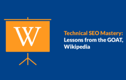 technical seo lessons from Wikipedia