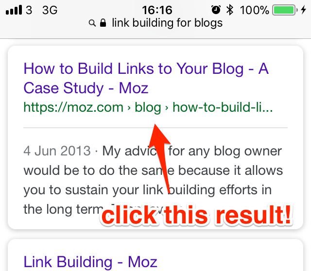 link building strategies for blogs safari mobile