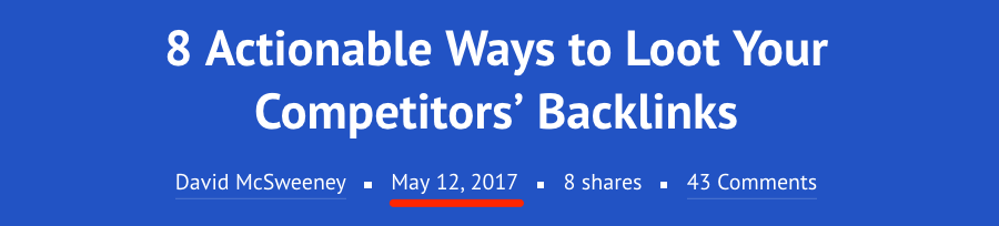 8 actionable ways to loot your competitors backlinks