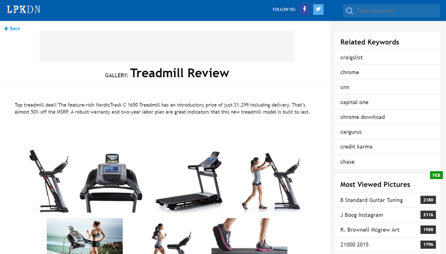 treadmill pbn example
