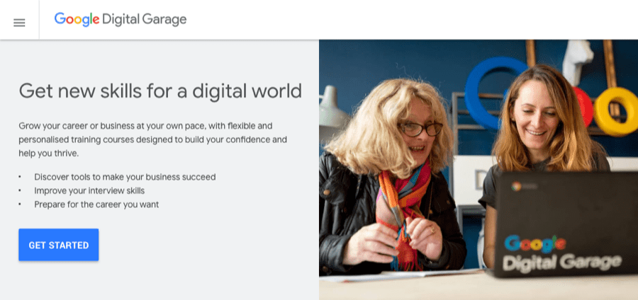 google digital garage course