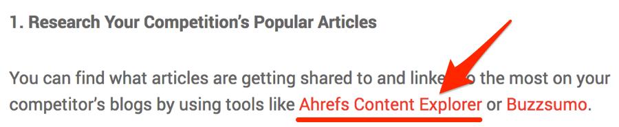 ahrefs content explorer link hoth