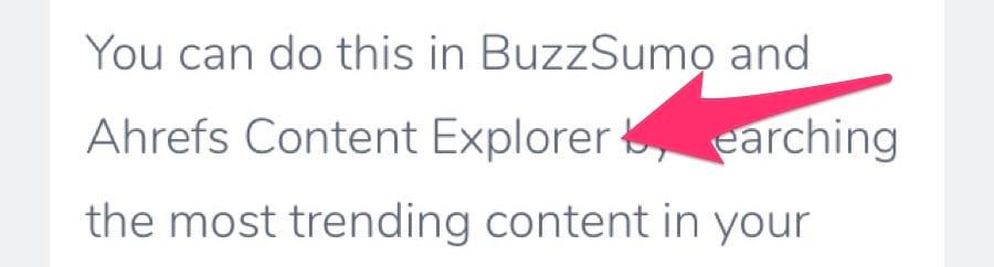 ahrefs content explorer unlinked