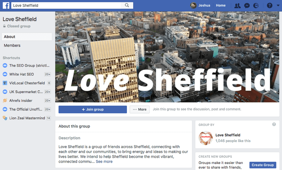 fb group sheffield