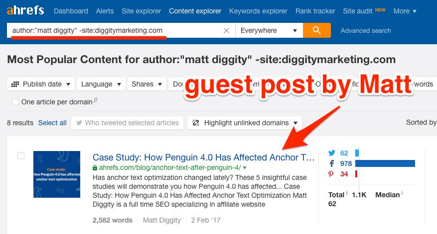 matt diggity content explorer
