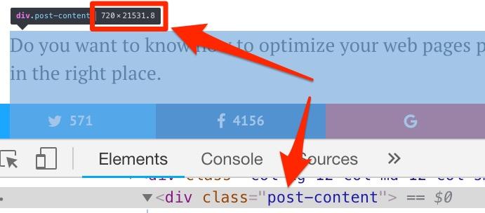 blog width