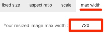 max width