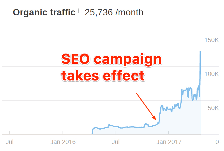 Why SEO Is Important: 5 Undeniable Facts with Case Studies seo campaign takes effect