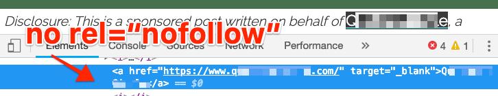 no rel nofollow 2