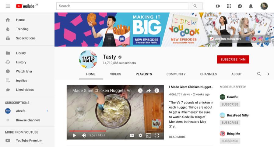tasty youtube