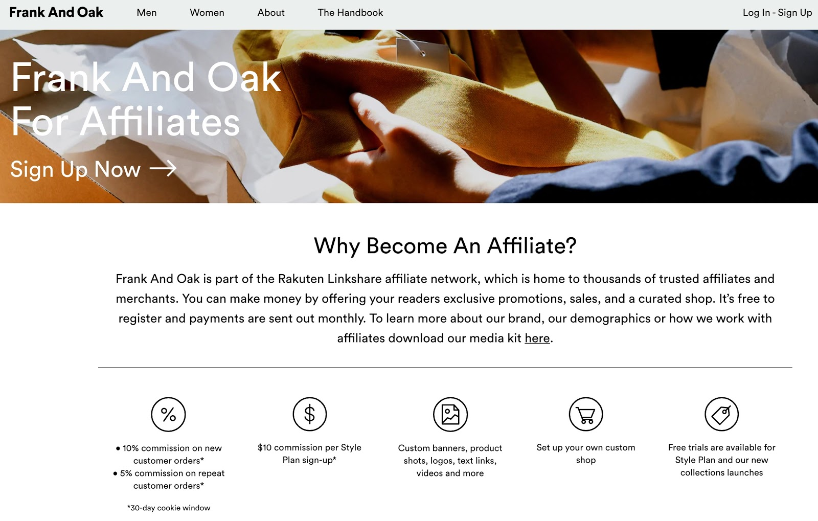 Frank And Oak Affiliate Program Frank And Oak