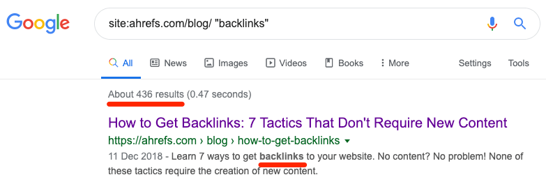 backlinks site search