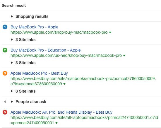 buy macbook pro serp