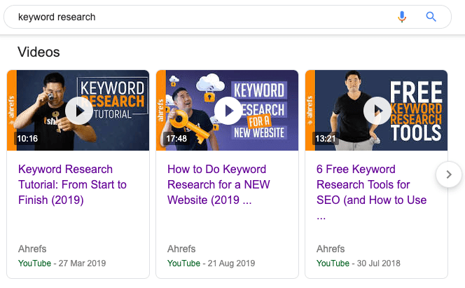 keyword research video carousel 1
