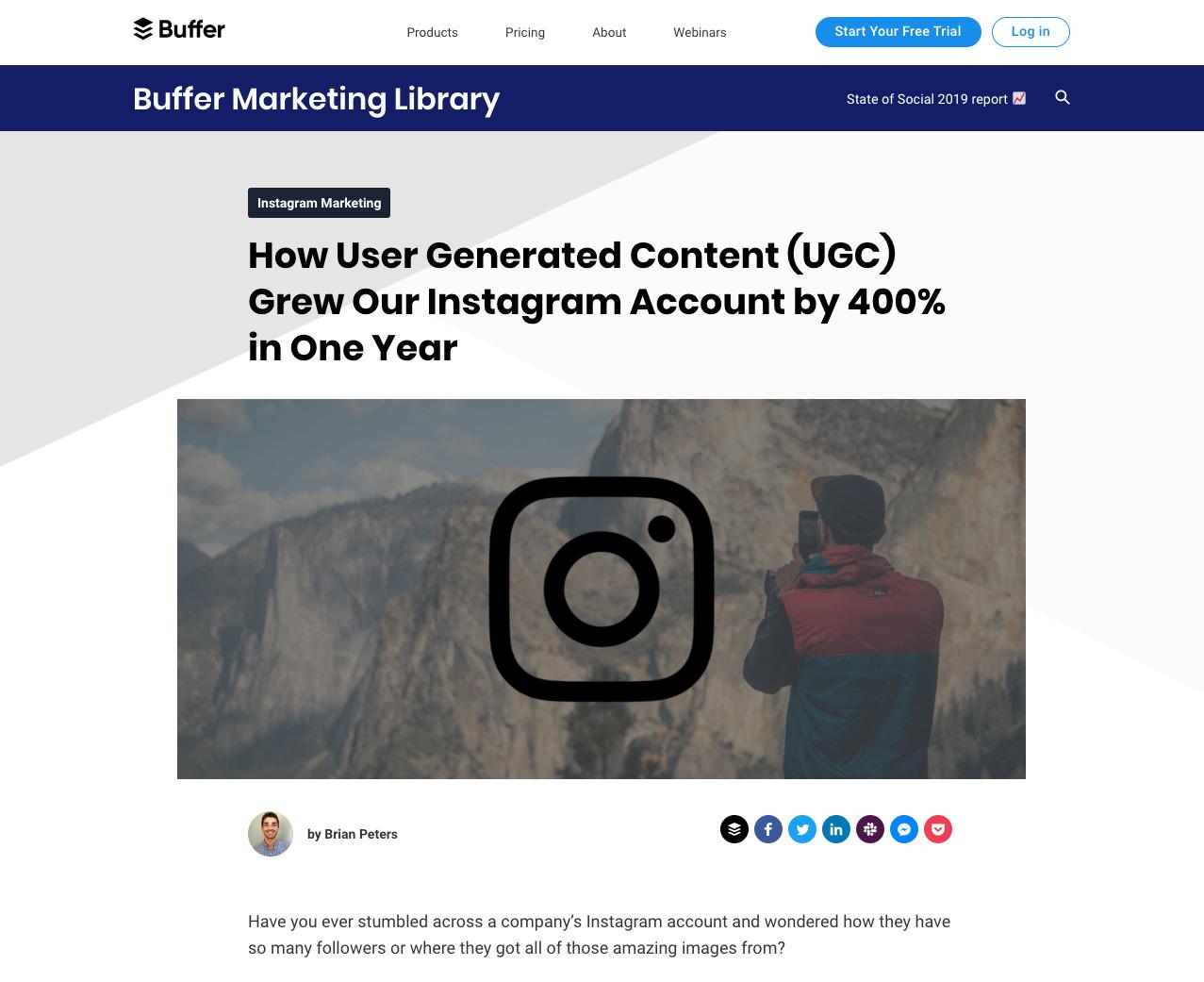 buffer duplicate content 2