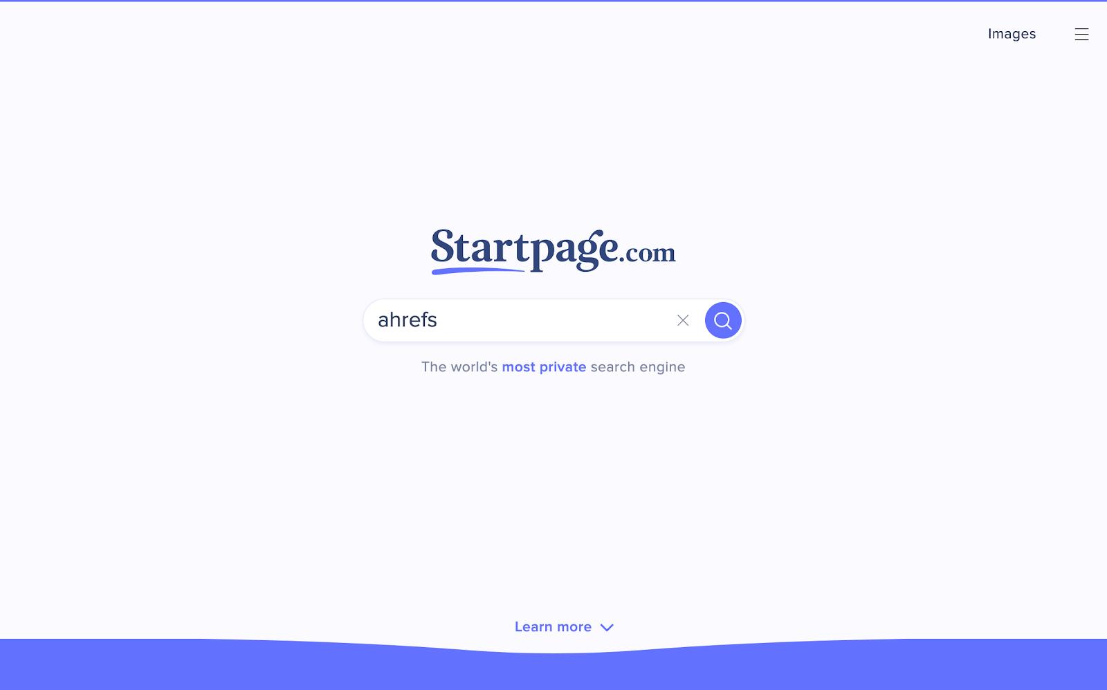 startpage 1