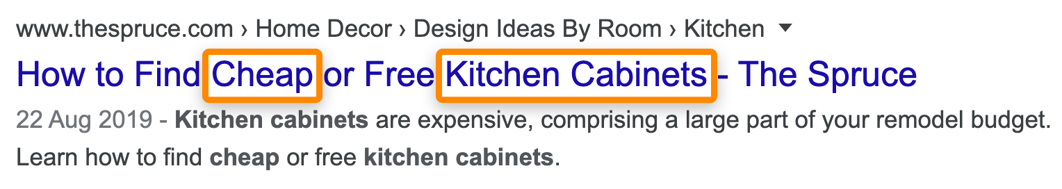 16 kitchen cabinets