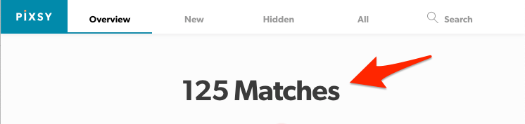 matches pixsy