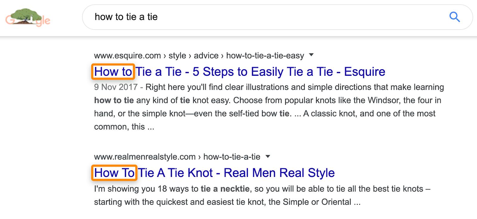 8 serp comment nouer une cravate