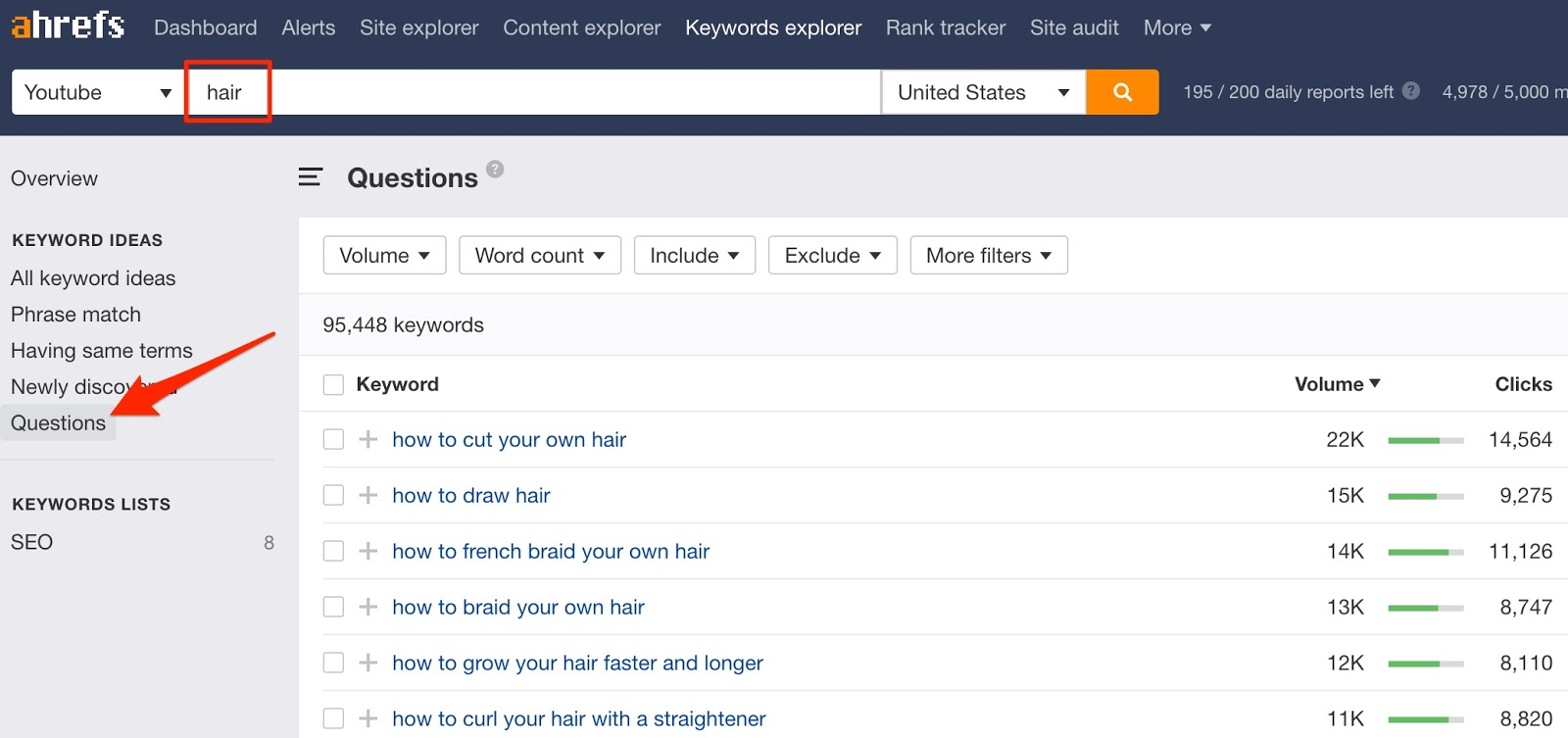 Keywords Explorer 1