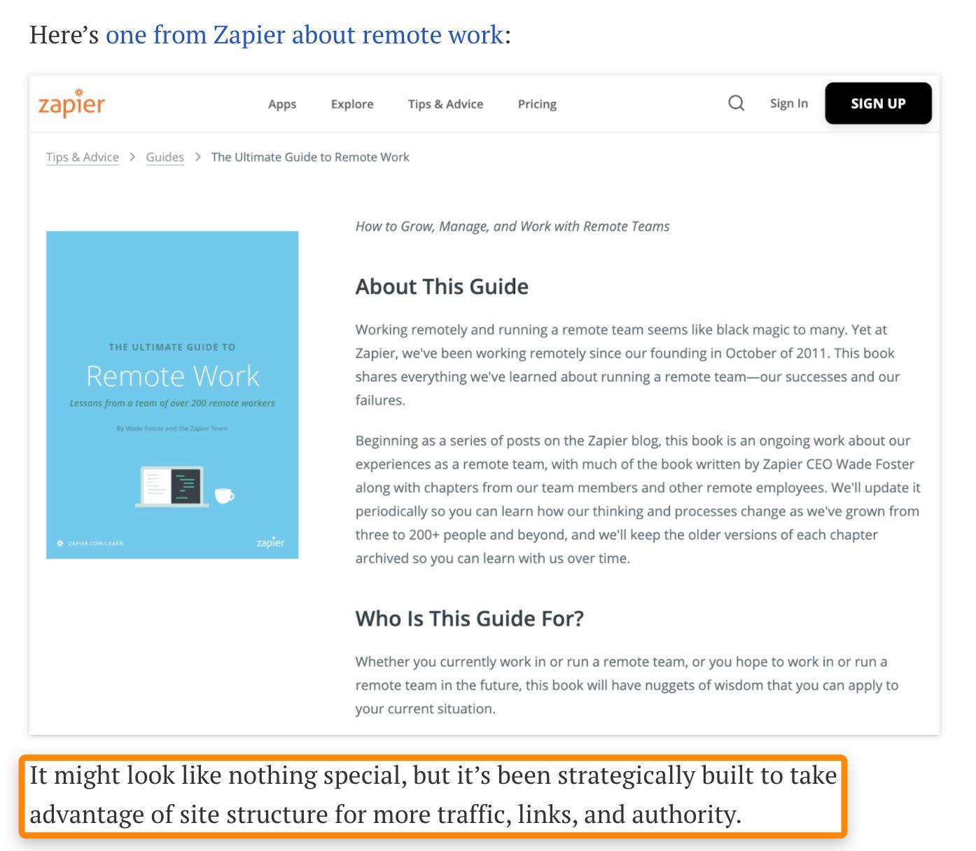 22 boucle ouverte du hub de contenu