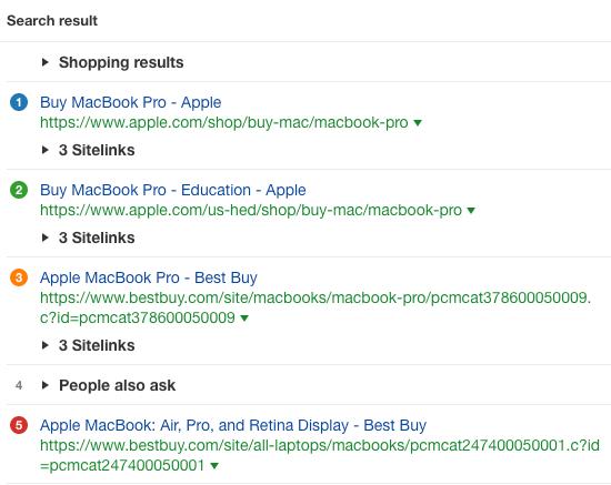 buy macbook pro serp