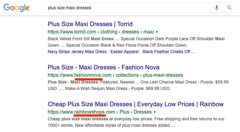 plus size maxi dresses serp