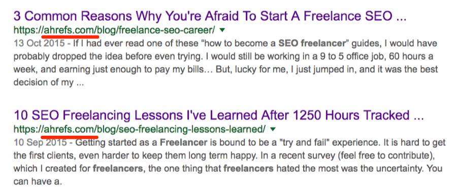 seo freelancing google