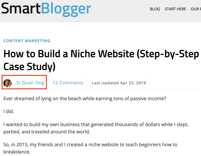 smart blogger guest post