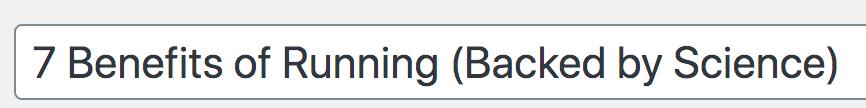 title tag brackets
