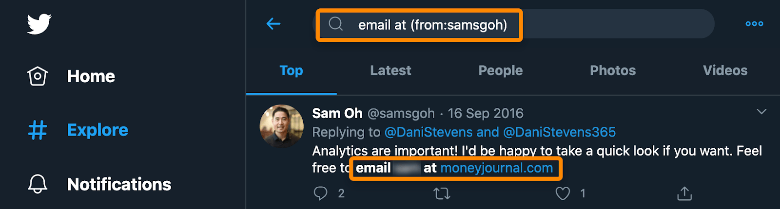 twitter advanced search email 1